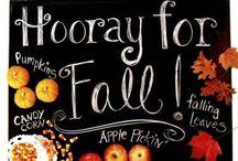 fall. / Fall / by Del