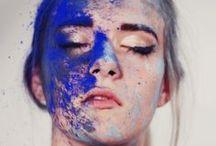 SONIA ALLEN Face Art / When makeup transforms into art.