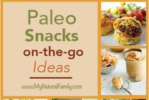 snacks. / paleo snacks / by Del