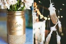 Wedding: blush, mint, gold / by Lacy Baines