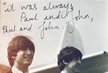 John, Paul, Ringo & George / by Nikki Campbell