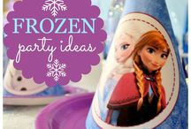 FROZEN Party/Recital / by Lacy Baines