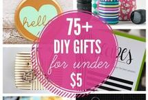 Gifts to Make and Give / Fun ideas for things to make/buy for family and friends :)  / by Emily Grimes