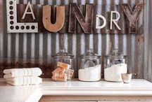 laundry. / laundry room / by Delisa