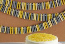 Festas / Projetos e ideias para decorar e personalizar as comemorações especias.