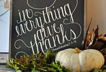 Giving Thanks / Thanksgiving  / by Deli Knits