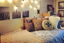 bedroom/dormroom / by Ivey Hand