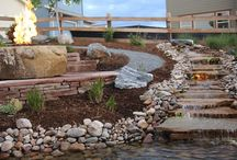 Water / Water Features Created by Glacier View Landscape