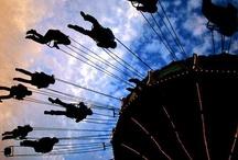 Ferris wheel&merry-go-round