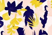 pattern design / Pretty fabric designs, colour combinations, patterns for digital and textile.