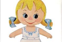 Paper Dolls: Little Kids  / For my sweet Grand daughter Anna. / by Cheryl Darr