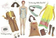 Paper Dolls: 60's-80's Famous / by Cheryl Darr
