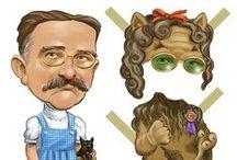 Paper Dolls: Literary Dolls