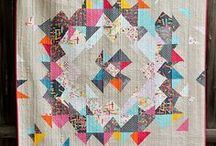 quilts / Modern and lovely quilts, quilting tutorials.