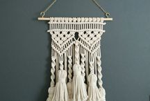 Macrame Projects / Loving the latest interior trend for all things knotted and macrame? Be inspired to make and create your own macrame projects, or see how to style them in your home.