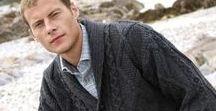 Aran design for Men / Aran Sweaters & Cardigans