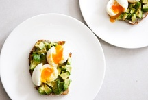Eat / Mostly eggs, avocados, and cookies. You know.