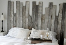 Upcycled Barn Wood Decor / With the United States quickly depleting timber resources it's more important than ever to find recycled materials to use.  One of the best sources for wood are old barns, as they become too dilapidated to store livestock and supplies they are torn down and left for dead.  Using barn wood for your wood décor projects will add a touch of vintage appeal and rustic style that would be almost impossible to achieve with new wood.  Follow this board for TONS of upcycled Barn Wood Inspiration!  / by Reincarnations Art