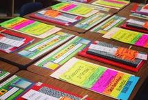 Colorful Open House / Elementary Open House ideas, activities and projects for teachers.