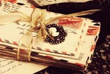 Journals. Letters. Pens. / by ✨Lulu✨
