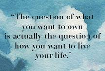 Quotes / Wisdom in pills.