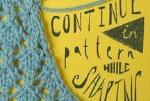 CRAFTS tricot y crochet tecnicas