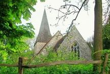 English & Scottish Churches & Abbeys / by Terri Mobley