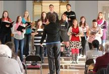 Arts at ODU / Don't worry the talent has arrived; ODU's band, choir, and art gallery / by Ohio Dominican University