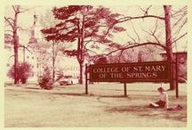 """Old School"" ODU / Ever wonder what ODU looked like back in the day? / by Ohio Dominican University"