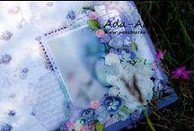RAMKI SCRAPBOOKING- pakamerka / scrapbooking, decoupage, ramki, obraz, obraz na ślub, ślub, wedding, prezent , pakamerka