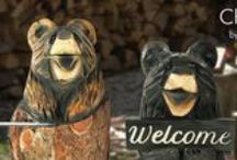 Chainsaw Art / Wood creations from the Colorado Rocky Mountains, exclusively at Sunland Home Decor
