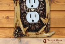Switch Plates /  Easily replace your plain white light switch covers with decorative styles from The Switch Plate Outlet.