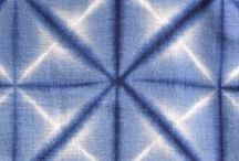 Dyeing Inspiration / Dyeing, ombre, cyanotype, hand printing and other textile pattern creation ideas
