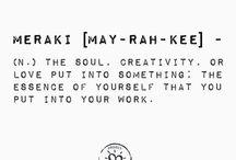 Create / Creative ideas