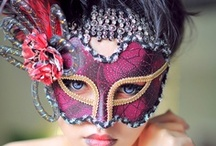 "The Beauty of Masks... / ""A mask tells us more than a face.""  Oscar Wilde"