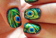 Art on Nails! / by Chris Blevins Watercolors