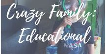 Crazy Family: Educational Ideas and Projects