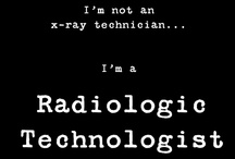 From Cathode to Anode...Radiologic Technology / You can call me Jessica Markwell RT (R). I'm a radiographer. I'm a radiologic technologist. I'm a rad tech. *sigh* I take x-rays.  / by Jessi Laird Markwell