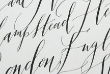 Calligraphy, Hand Lettering
