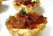 Party Food / Creative appetizers for intimate parties, gatherings + events!