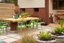 outdoor living / by Muffin Grayson