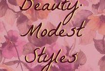 Beauty: Modest Styles / Modest clothing styles that are fun and fashionable.