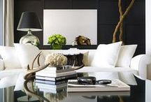 Home Design + Decor / Beautifully designed spaces in & around the home. (Includes some vacation homes & villas as well as hotel & restaurant spaces for inspiration.)