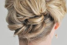 """Hairstyles / Hair inspiration & styling tutorials. (See """"Beauty"""" pinboard for products, DIY treatments, etc.)"""
