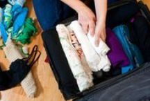 """Packing ✈ / Great packing tips & tricks. (See my """"Travel Tips"""" pinboard for related resources.)"""