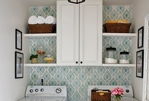 House - laundry & bathrooms / by Renee Wilson