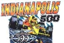 Indy 500 and IndyCar Racing / Great vintage Indy 500 and IndyCar t-shirts and hats from Vintage Basement - www.vintagebasement.com