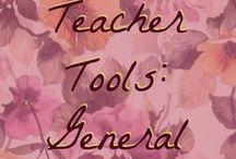 Teacher Tools: General
