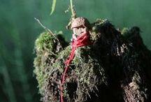 Weird little men / Handmade wooden toys. Barnaba Wójtowicz-Szczotka www.artefakty.org www.ludziki.org