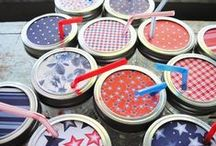 Fourth of July / Fun, clever, & inspiring food & decoration ideas for Fourth of July holiday entertaining.